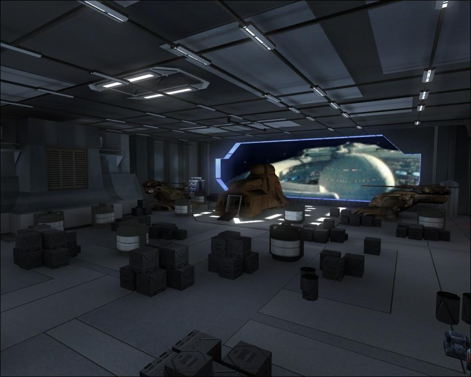 Trade Federation Battleship
