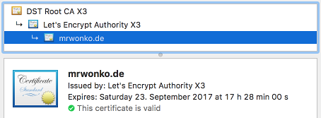 Using letsencrypt certificates with a Taskwarrior server