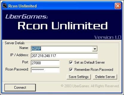 RCon Unlimted V1 0