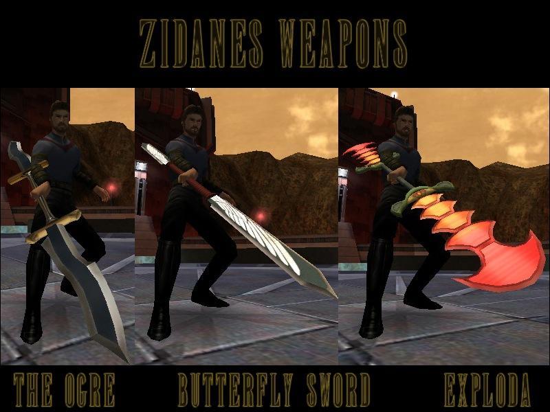 Zidane's Weapon Pack